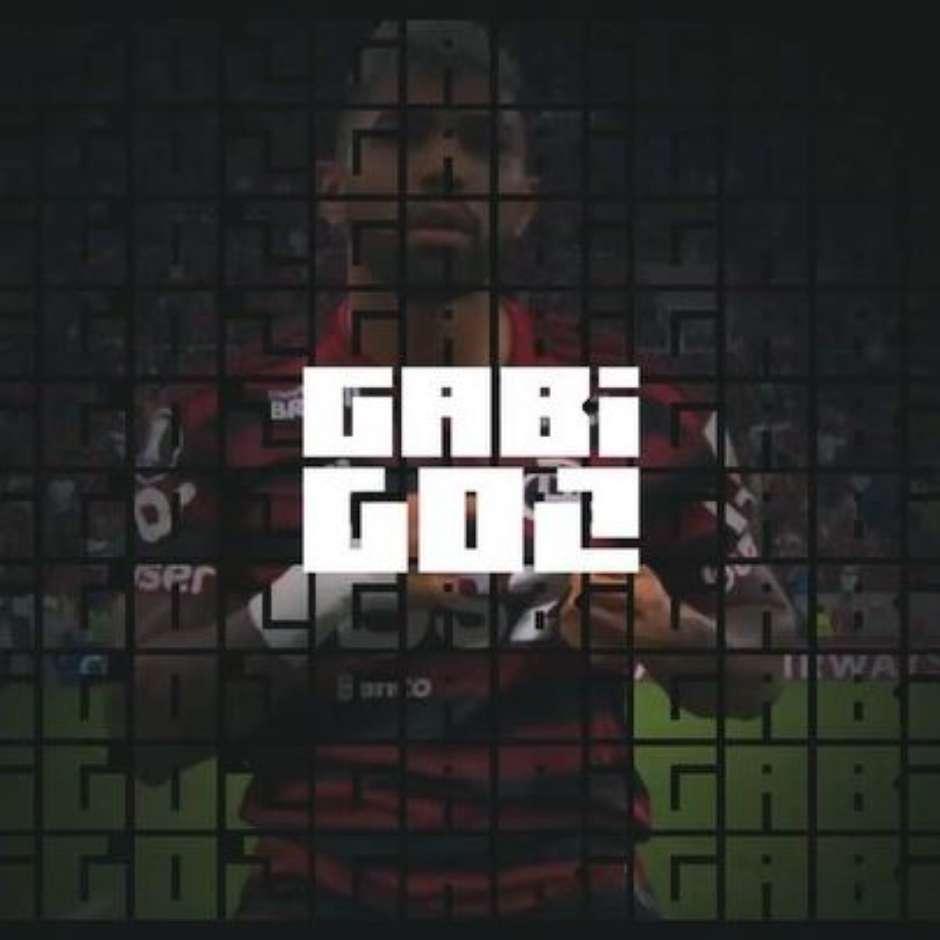 Gabigol comemorou a permanência no Flamengo com um belo vídeo nas redes sociais Foto: Reprodução Instagram