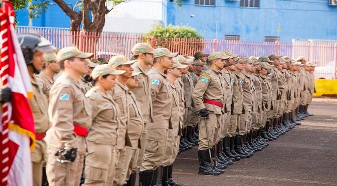 Corpo de Bombeiros receberá mais de 150 novos soldados - Crédito: Divulgação