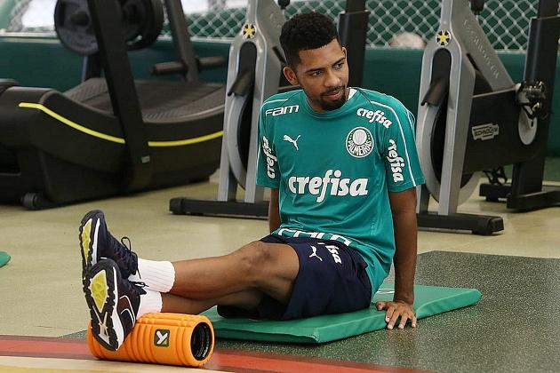 Matheus Fernandes está de saída do Palmeiras para o Barcelona — - Foto: Cesar Greco/Ag. Palmeiras