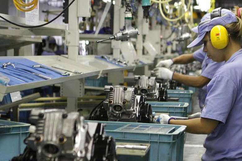 Produção industrial apresentou queda no país - Crédito: Arquivo/Agência Brasil