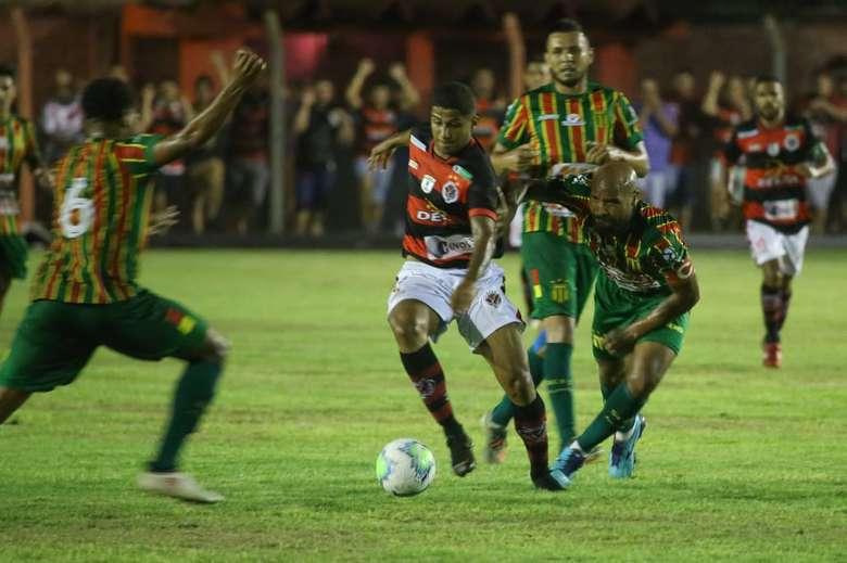 Águia Negra se classificou para a segunda fase da Copa do Brasil - Crédito: Franz Mendes