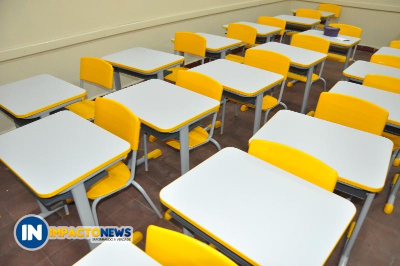 Escola José Reis foi reformada e estudantes contarão com novas carteiras e salas climatizadas