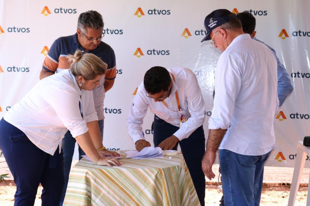 Atvos e Prefeitura assinaram termo de recebimento de benfeitorias realizadas no Viveiro