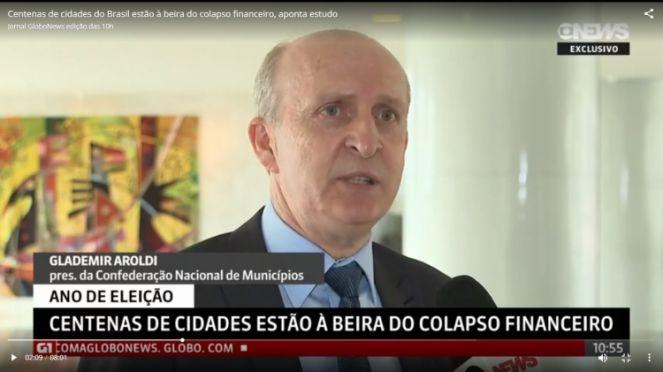 Glademir Aroldi, presidente da CNM (Foto: Divulgação)