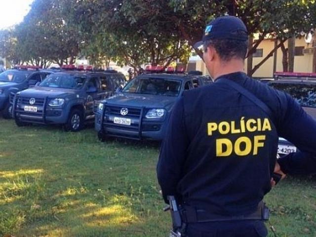 Integrantes do DOF em Mato Grosso do Sul (Foto: Divulgação/Sejusp)