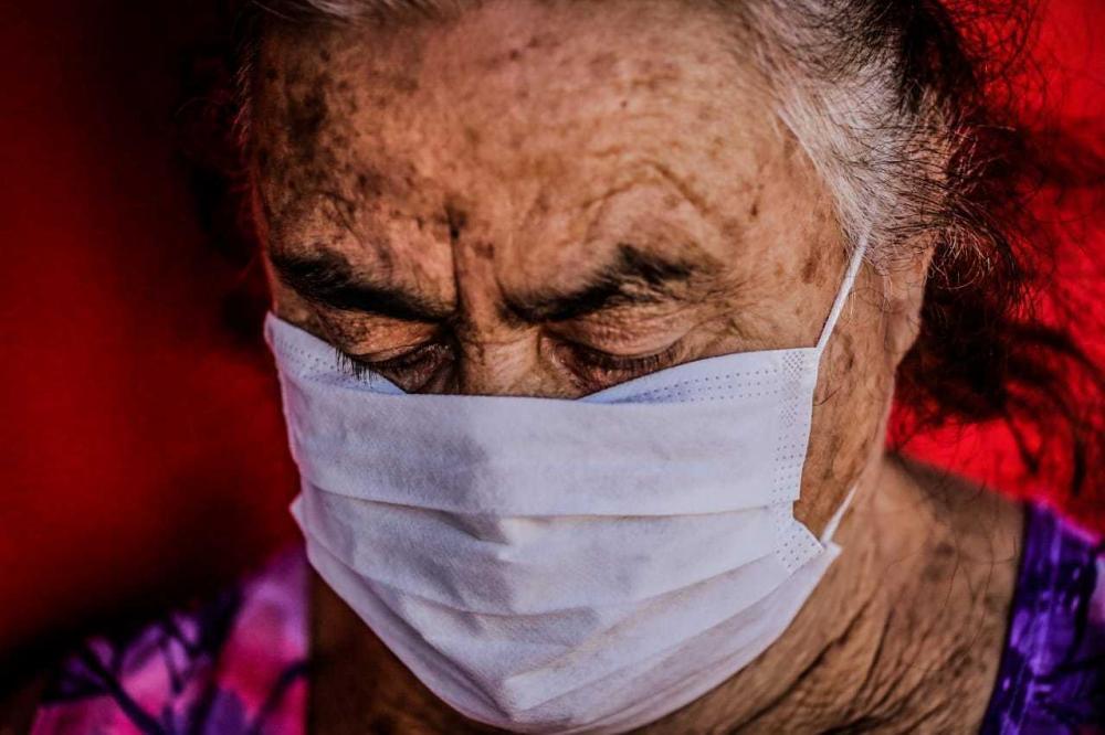 Entre idosos com mais de 60 anos, a letalidade da covid-19 é maior. (Foto: Arquivo/Marcos Maluf)