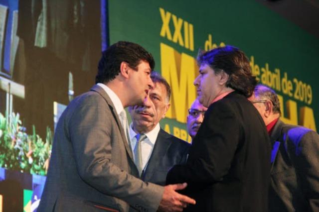 Caravina agradece Mandetta pelo apoio aos municípios de MS