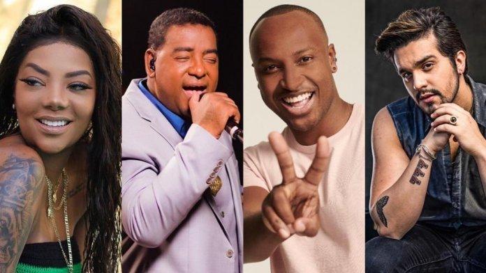 Lives da semana: Raça Negra, Thiaguinho, Lumilla e Luan Santana