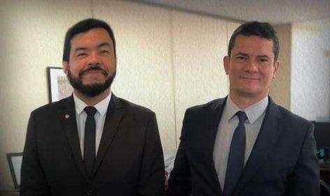 Defensor de Bolsonaro, deputado do PSL posta agradecimento a Moro
