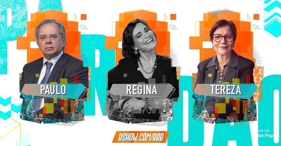 Paredão: Nas redes sociais, Regina Duarte é a 4ª eliminada do Big Brother Brasília