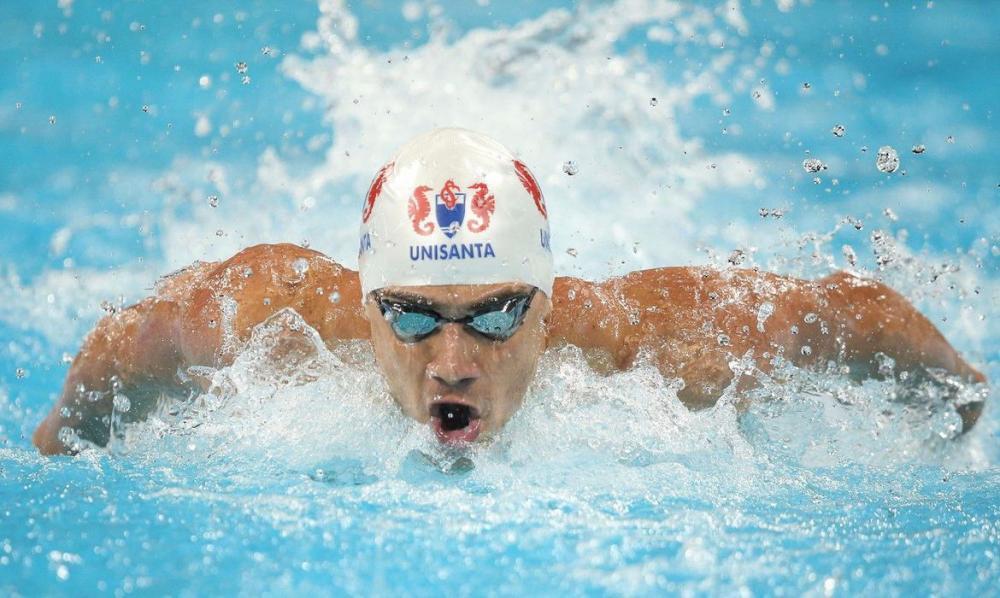 Nadador campo-grandense Léo de Deus revela sonho de medalha olímpica
