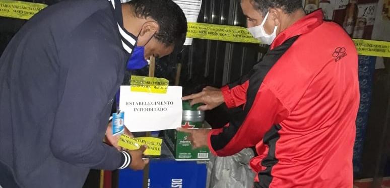 Comércio de bebidas foi autuado em Deodápolis por descumprir regras de combate ao COVID-19