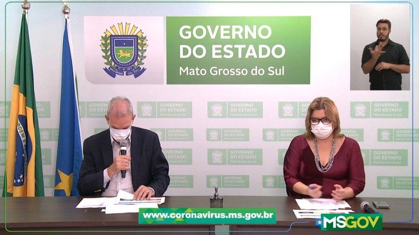 MS tem 1.646 casos confirmados de coronavírus e Dourados assume como foco da pandemia