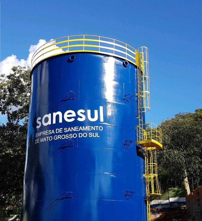 Sanesul investe no abastecimento de água de Ladário e vai ampliar rede de esgotamento sanitário