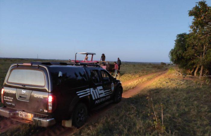 Mandado foi cumprido na zona rural de Ribas (Foto: Divulgação)