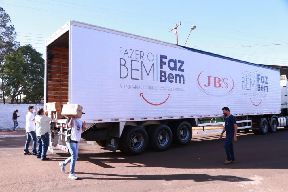 JBS já alocou R$ 20,7 milhões em doações para o Mato Grosso do Sul