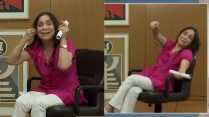 Regina Duarte é processada por apologia da tortura em entrevista