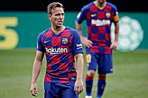 Arthur fez a sua última partida pelo Barcelona no último sábado ao entrar nos minutos finais do empate com o Celta - Foto: Getty Images