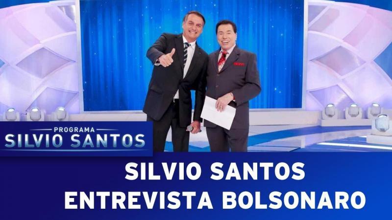 Silvio Santos entrevista Bolsonaro | Programa Silvio Santos (05/05/19)