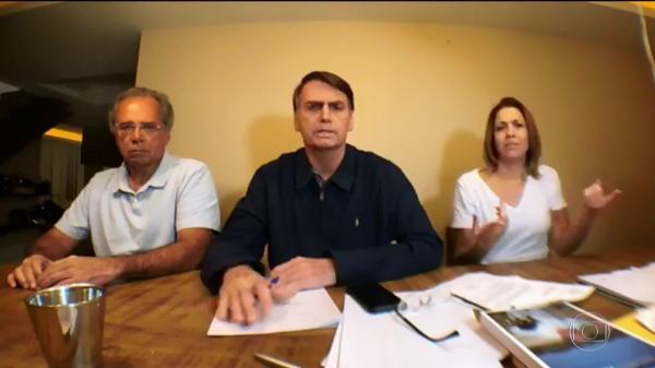 Bolsonaro fala ao Brasil. Estamos no segundo turno!