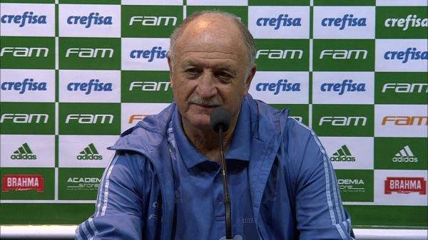 Veja o que o Felipão falou após o palmeiras ser campeão; tomou banho na coletiva (25/11)