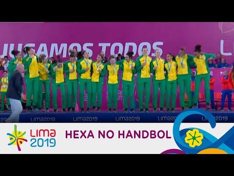 Veja os melhores momentos da vitória que deu ao Brasil o hexa no handebol feminino