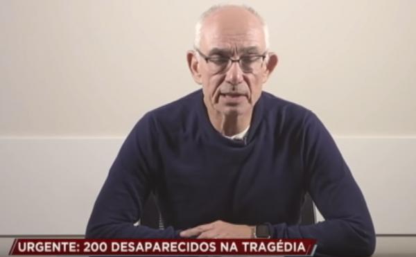 Diretor-presidente da Vale fala sobre rompimento de barragem em Brumadinho (MG)