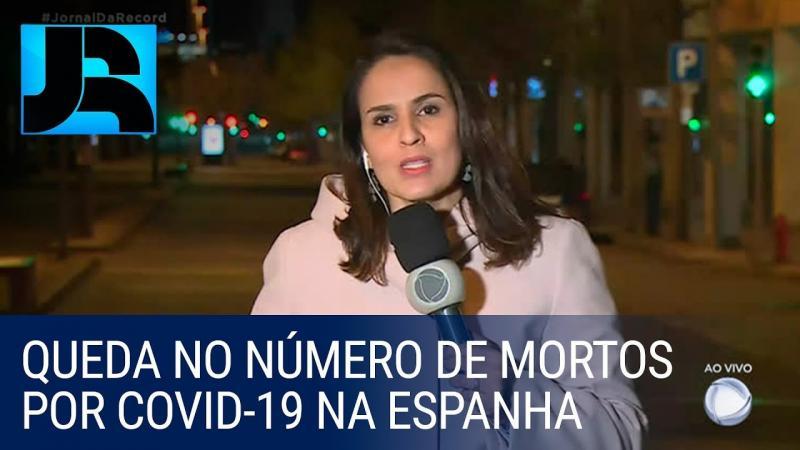 Número de mortos por coronavírus volta a cair na Espanha pelo segundo dia seguido