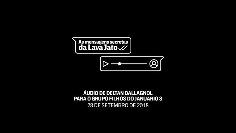 #VazaJato: em áudio inédito, Deltan comemora proibição de entrevista de Lula