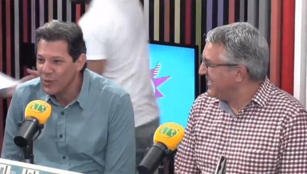 Haddad: 'Eu não acho que o Bolsonaro tenha condições de presidir o país'