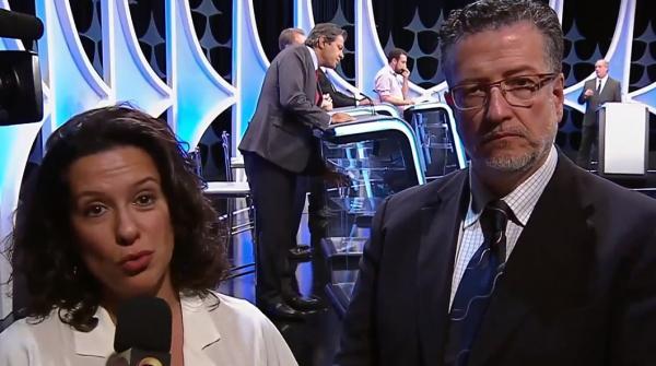 Debate dos candidatos a Presidência no SBT neste dia 26/09/2018