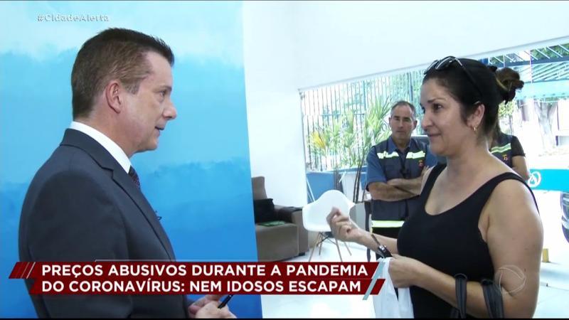 Preço abusivo de máscaras e de álcool em gel : Celso Russomanno faz blitz em farmácias de São Paulo
