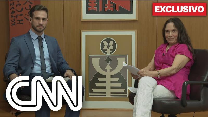 Exclusivo: Regina Duarte minimiza ditadura e interrompe entrevista à CNN