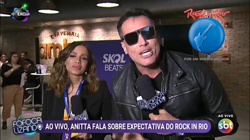 Exclusivo: Anitta perde a paciência em entrevista com Léo Dias Ao Vivo