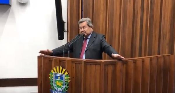 Onevan de Matos: Agradecimento na tribuna da Assembleia Legislativa de MS