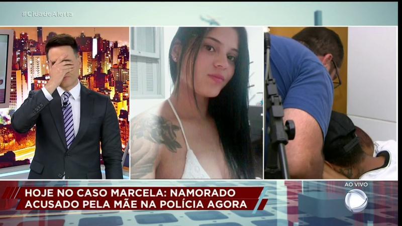 Caso Marcela: Mãe recebe a notícia da morte da filha ao vivo